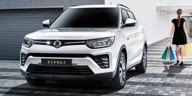 New SsangYong All New Tivoli from £14,345